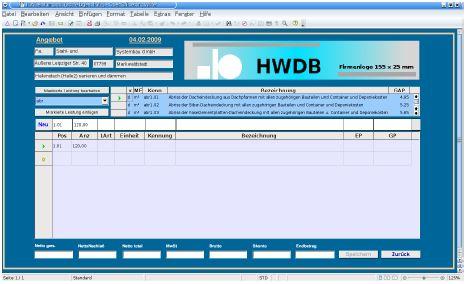Warenwirtschaft mit OpenOffice Base