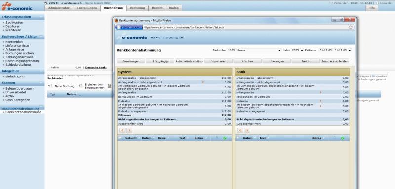 Online Buchhaltung e-conomic