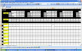 Kostenlose Dienstplan-Vorlagen für Excel