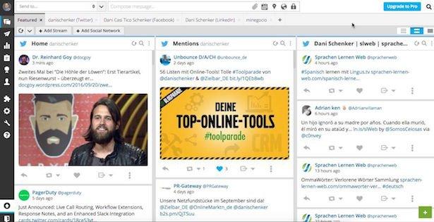 Hootsuite - Social Media überwachen und analysieren